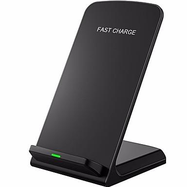 Недорогие Гаджеты для Samsung-Беспроводное зарядное устройство Зарядное устройство USB Универсальный Беспроводное зарядное устройство / Qi Не поддерживается 2 A 100~240 V для iPhone X / iPhone 8 Pluss / iPhone 8