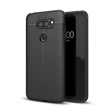 ieftine Carcase / Huse de LG-Maska Pentru LG LG V30 / LG V30+ / LG Q6 Anti Șoc Capac Spate Mată Moale TPU / LG G6