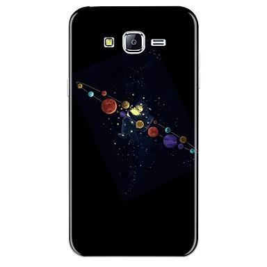 voordelige Galaxy J-serie hoesjes / covers-hoesje Voor Samsung Galaxy J7 (2017) / J7 (2016) / J7 Patroon Achterkant Cartoon Zacht TPU