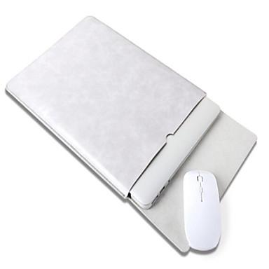 manche couleur pleine faux cuir pour macbook pro 13 pouces macbook pro 15 pouces macbook air