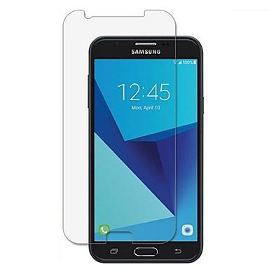 Защитная плёнка для экрана для Samsung Galaxy J7 (2017) Закаленное стекло 1 ед. Защитная пленка для экрана HD / Уровень защиты 9H / 2.5D закругленные углы