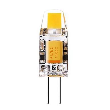 SENCART 1st 1 W LED-lampor med G-sockel 240-280 lm G4 T 1 LED-pärlor COB Dekorativ Varmvit Kallvit 12 V