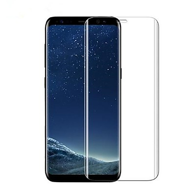 [$4.99] Screen Protector Samsung Galaxy for S8 Tempered Glass 1 pc Front Screen Protector 3D Curved edge Anti-Fingerprint Scratch Proof Ultra