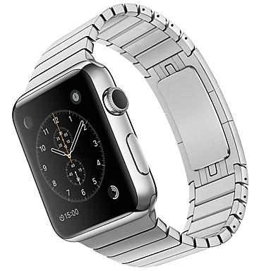 Недорогие Ремешки для Apple Watch-Ремешок для часов для Apple Watch Series 4/3/2/1 Apple Классическая застежка Металл / Нержавеющая сталь Повязка на запястье