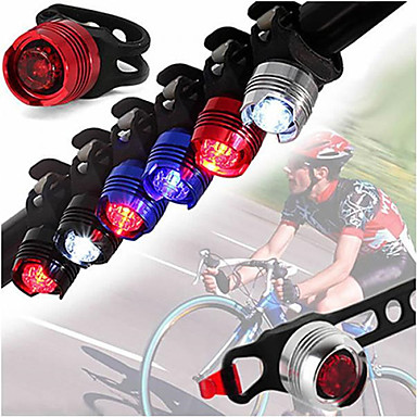 رخيصةأون اضواء الدراجة-LED اضواء الدراجة ضوء الدراجة الأمامي مصابيح الدراجة دراجة جبلية ركوب الدراجة ضد الماء محمول خفة الوزن Li-ion 350 lm أبيض Camping / Hiking / Caving أخضر / ABS / IPX-4 / وسائط متعددة