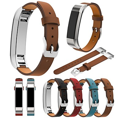 Watch Band varten Fitbit Alta Fitbit Perinteinen solki Aito nahka Rannehihna
