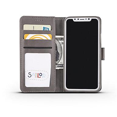 supporto Apple 06632405 carte chiusura di Per credito A agli X urti Resistente iPhone Con Porta magnetica Custodia iPhone Con portafoglio 8 5aRBBwq