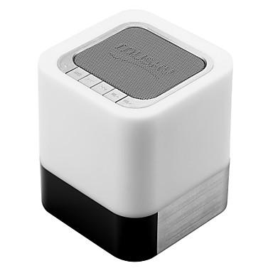 Portabil Lumină LED Card memorie suport Bluetooth 3.0 3.5mm AUX boxe Bluetooth wireless Negru