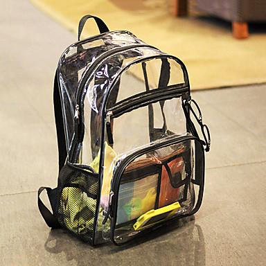 ieftine Rucsaci & Genți-10 L Rucsaci Impermeabil În aer liber Drumeție Călătorie Școală Transparent