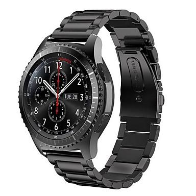 voordelige Horlogebandjes voor Samsung-Horlogeband voor Gear S3 Frontier Samsung Galaxy Moderne gesp Metaal Polsband