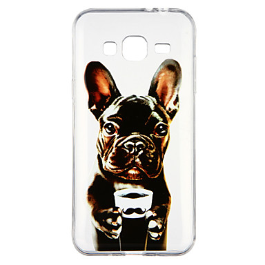 [$2.99] Case For Samsung Galaxy J3(2016) Transparent Pattern Back Cover Dog Cartoon Soft TPU for J3 (2016)