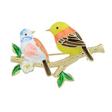 Brooches - Bird Basic, Fashion Brooch Gold For Daily / Date