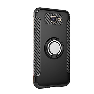 new style a2e8f aacaa Case For Samsung Galaxy J7 Prime / J7 (2017) / J5 Prime Ring Holder Back  Cover Armor Hard PC