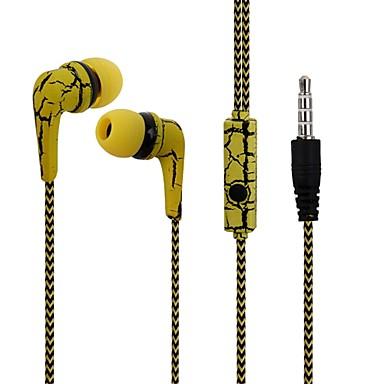 reflektierende Tuchlinie Kopfhörer Kopfhörer knacken Ohrhörer mit Mikrofon Stereo-Headset für Handy iphone mit Mikrofon