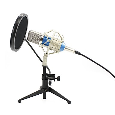 cheap Audio & Video Accessoires-KEBTYVOR BM700+PC03+Pop Filter Wired for Computer Microphone