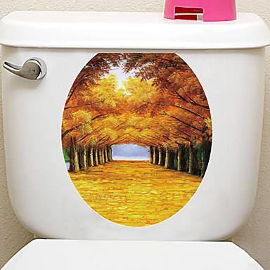 Adesivi decorativi da parete adesivi toilet adesivi for Adesivi decorativi da parete