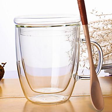 Drinkware Glasses Glass Heat-Insulated 1pcs
