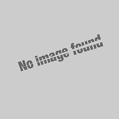 billige Herrers Mode Beklædning-Krave Herre - Ensfarvet / Dyr Bomuld, Broderi Basale Plusstørrelser Polo Gul XL / Kortærmet