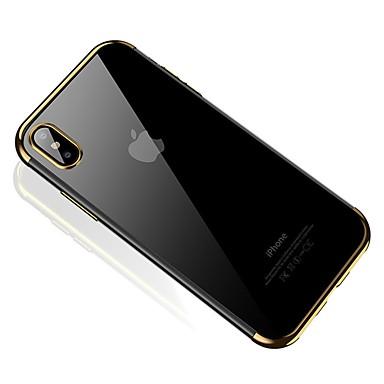 Morbido iPhone TPU per iPhone 8 X Per Custodia retro Apple Tinta iPhone 8 X Plus iPhone unita 06695479 Per iPhone 8 Placcato Plus g67T6q