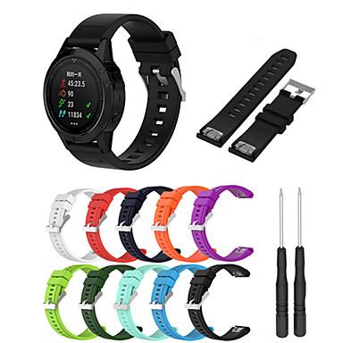 Watch Band na Fenix 5x / Fenix 3 HR / Fenix 3 Garmin Nowoczesna klamra Silikon Opaska na nadgarstek