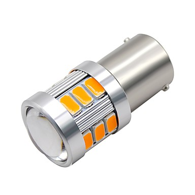 Недорогие Фары для мотоциклов-SO.K 2pcs 1156 Мотоцикл / Автомобиль Лампы 3 W SMD 5730 300 lm 18 Светодиодная лампа Фары дневного света / Лампа поворотного сигнала / Мотоцикл For Универсальный Все года