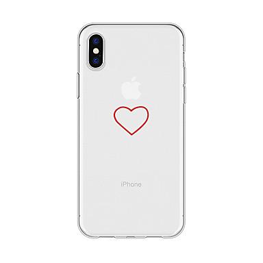 disegno TPU animati iPhone retro X 06707980 8 per X 8 Custodia Apple Cartoni Plus Fantasia Per Con Morbido iPhone cuori Per iPhone iPhone q6p8a