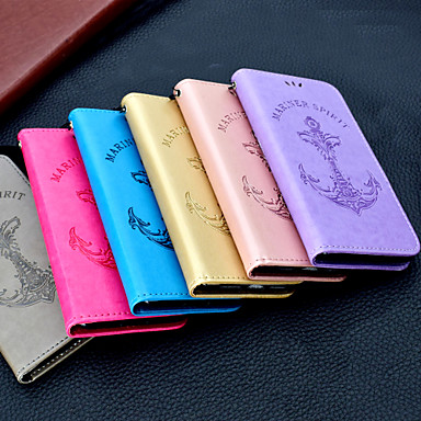 voordelige Galaxy S-serie hoesjes / covers-hoesje Voor Samsung Galaxy S9 / S9 Plus / S8 Plus Portemonnee / Kaarthouder / Flip Volledig hoesje Effen / Woord / tekst Hard PU-nahka