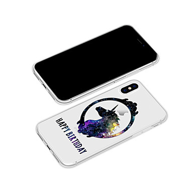 Custodia TPU iPhone animati 8 X 06712074 X Unicorno iPhone retro Plus Cartoni iPhone Fantasia Apple Morbido Per Per iPhone per 8 disegno rxfwAZqSr