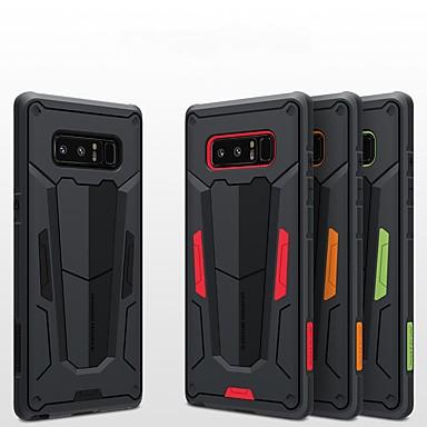 Недорогие Чехлы и кейсы для Galaxy Note-Кейс для Назначение SSamsung Galaxy Note 8 Защита от удара / Рельефный Кейс на заднюю панель броня Твердый ПК
