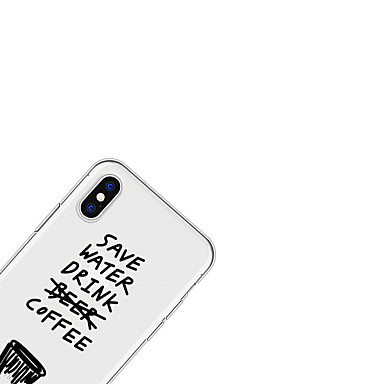 X Fantasia Morbido iPhone Plus Per disegno retro 8 Custodia iPhone iPhone X TPU animati Frasi iPhone 06707983 famose per Apple Per Cartoni HwA0p