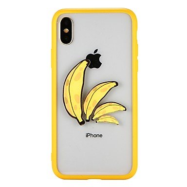 Case For Apple iPhone X / iPhone 8 Shockproof Back Cover Fruit Hard PC for iPhone X / iPhone 8 Plus / iPhone 8