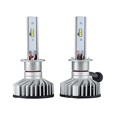 voordelige Autokoplampen-2pcs H1 Automatisch Lampen 25W Geïntegreerde LED 3000lm 2 LED Koplamp For Ford Rio / Forte / Focus Alle jaren