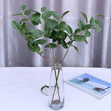 زهور اصطناعية 1 فرع كلاسيكي فردي أسلوب بسيط الحديث نباتات الزهور الخالدة أزهار الطاولة