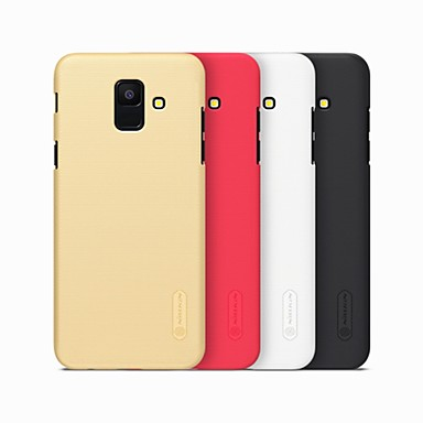 voordelige Galaxy A-serie hoesjes / covers-hoesje Voor Samsung Galaxy A6 (2018) / A6+ (2018) / A8 2018 Mat Achterkant Effen Hard PC