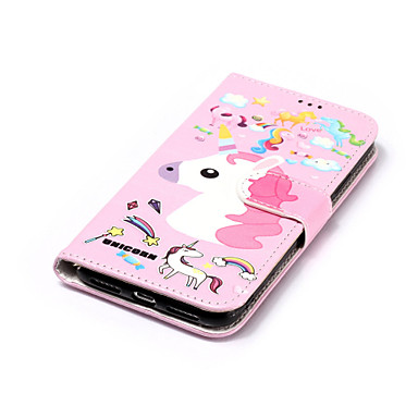 Integrale supporto di Custodia iPhone credito sintetica iPhone 8 Con Unicorno Plus X pelle A carte per 8 iPhone Porta 06749197 iPhone X Resistente iPhone Apple 8 portafoglio Plus Per ZwxqPZr6