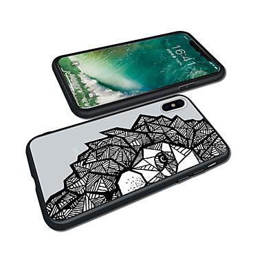 per Apple disegno X 8 animati Plus iPhone 8 Per X 06749893 Acrilico iPhone Plus iPhone Per Resistente iPhone Geometrica Fantasia Cartoni retro iPhone 8 Custodia C58fanw5q