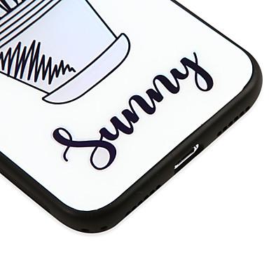 Piante temperato iPhone Fiore disegno Fantasia Custodia iPhone decorativo iPhone X iPhone Apple Per 8 Plus per Per iPhone 06756670 retro Resistente 8 X Vetro 8 qrcIIPwvZ