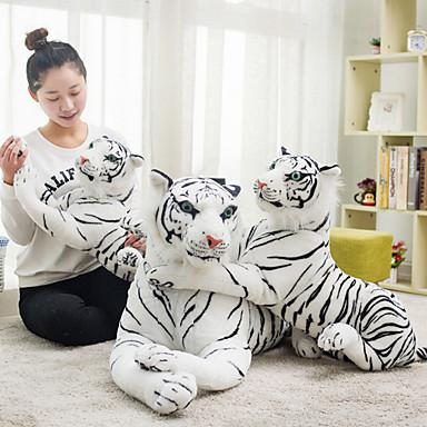 Tiger حيوانات محشية الحيوانات كوول أكريليك / قطن فتيات ألعاب هدية 1 pcs