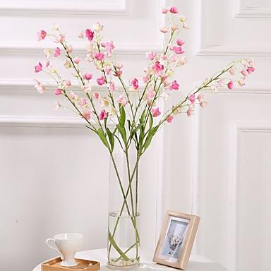 زهور اصطناعية 4.0 فرع كلاسيكي فردي أسلوب بسيط النمط الرعوي الجريس نوع من الزهر الجريسي الزهور الخالدة أزهار الطاولة