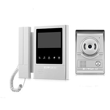 ieftine Sisteme de Control Acces-XINSILU XSL-V43E168 Cablu 4.3 inch Mâini-libere / Telefon 480*272 Pixel Interfon video 1 la 1