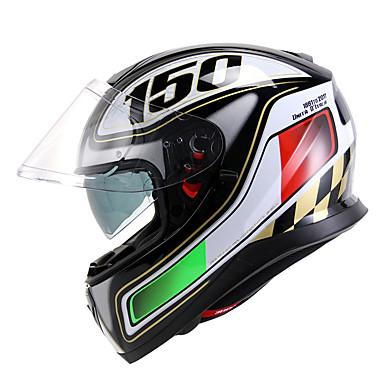 저렴한 헬맷 & 마스크-YOHE YH976 풀 페이스 어른 남여 공용 오토바이 헬멧 따뜻한 / 열 / 통기성 / 탈취제