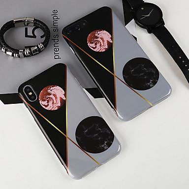 Custodia Morbido retro iPhone 8 Per 8 Plus X Geometrica iPhone Per iPhone iPhone Apple 06749368 8 Paesaggi iPhone IMD X TPU per rqBwrP