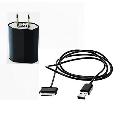 شاحن متنقل شاحن يو اس بي مقبس أمريكي / USB مع كابل / مخارج متعددة / QC 3.0 مخرجUSB 2 2.1 A 100~240 V إلى