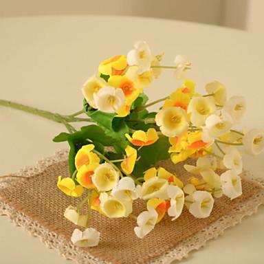 زهور اصطناعية 1 فرع كلاسيكي الحديث المعاصر الجريس نوع من الزهر الجريسي أزهار الطاولة