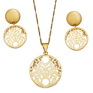 4e3567fe3 Dámské Šperky Set dámy, Cikánské, Módní Zahrnout Náušnice - Kruhy  Náhrdelníky s přívěšky Zlatá