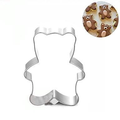 الدب الكوكيز العفن قالب الكعكة الفولاذ المقاوم للصدأ