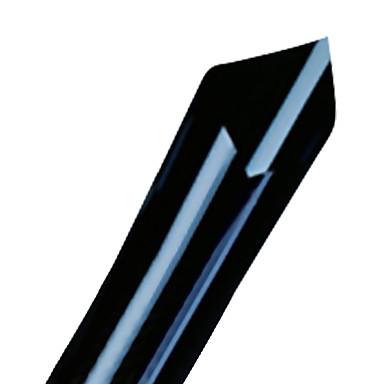 أسود / أخضر غامق Car Stickers الأعمال التجارية إخفاء عالية (20٪) / الإخفاء المعتدل (Transmittance21-35٪) فيلم سيارة