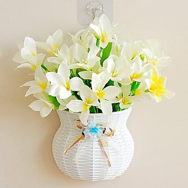 زهور اصطناعية 1 فرع كلاسيكي النمط الرعوي الزنابق أزهار الحائط
