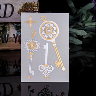 Trustfire 1 pcs ملصقات الوشم الوشم المؤقت سلسلة الطوطم استايل مصغر / صديقة للبيئة / استعمال مرة واحدة الفنون الجسم هيكل / أيادي / ذراع / ملصق الوشم