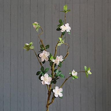 زهور اصطناعية 1 فرع كلاسيكي زهري أزلية أزهار الأرض